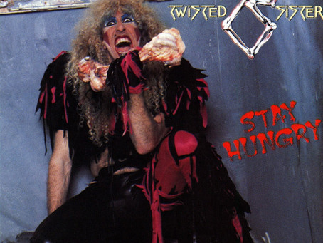 """Featured Album: """"Stay Hungry"""" by Twisted Sister"""