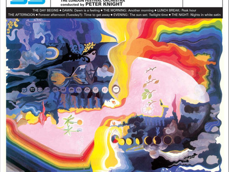 """This Week's Featured Album: """"Days of Future Passed"""" by The Moody Blues"""