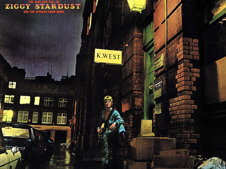 """This Week's Featured Album:""""The Rise & Fall of Ziggy Stardust & the Spiders from Mars""""by David Bowie"""