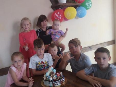 В Приволжском отметили детский день рождения