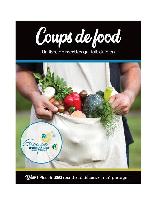 Livre de recettes - Coups de food