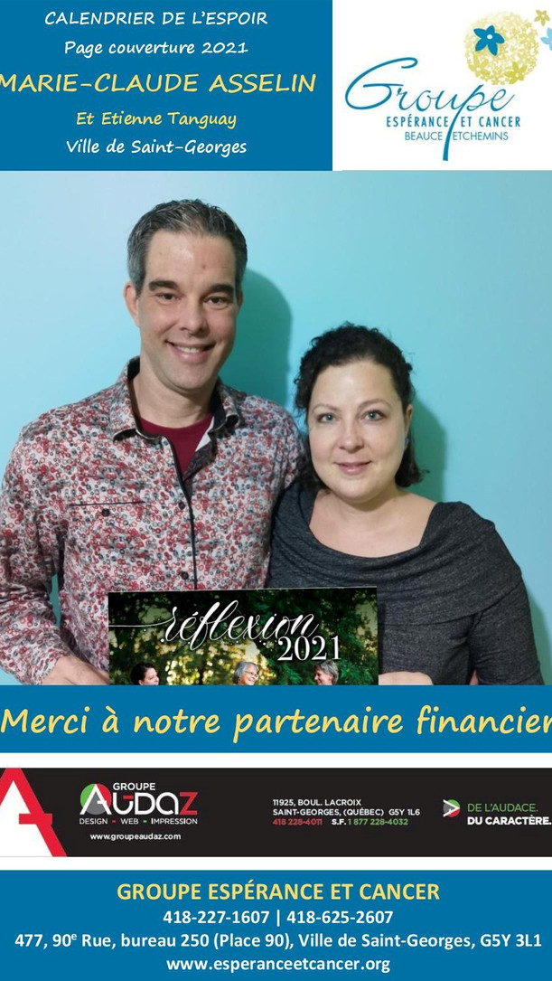 13- Marie-Claude Asselin et Etienne Tang