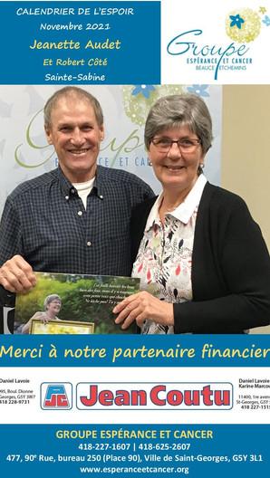 11- Jeanette Audet et Robert Côté - nove