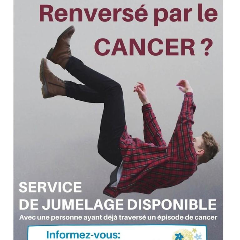 Renversé par le cancer ? Un service de jumelage est disponible