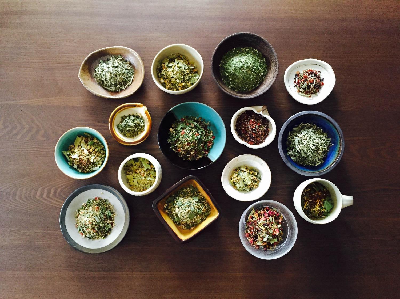 ハーブティyado 茶葉メイン