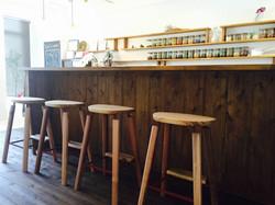 ハーブティーyado 喫茶カウンター