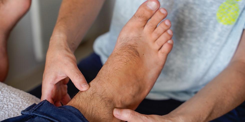 Apprenez l'art du massage du pied
