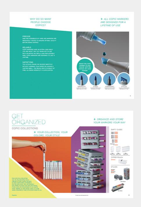 iii Catalog - Copic Section