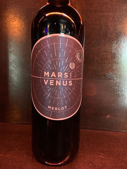 Mars n Venus Merlot 12 Bottles case