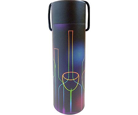 PBox1 Nightlife - Printed Paper Bottle Box