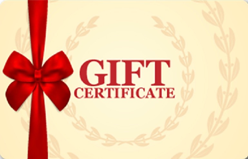 $100Gift Certificate
