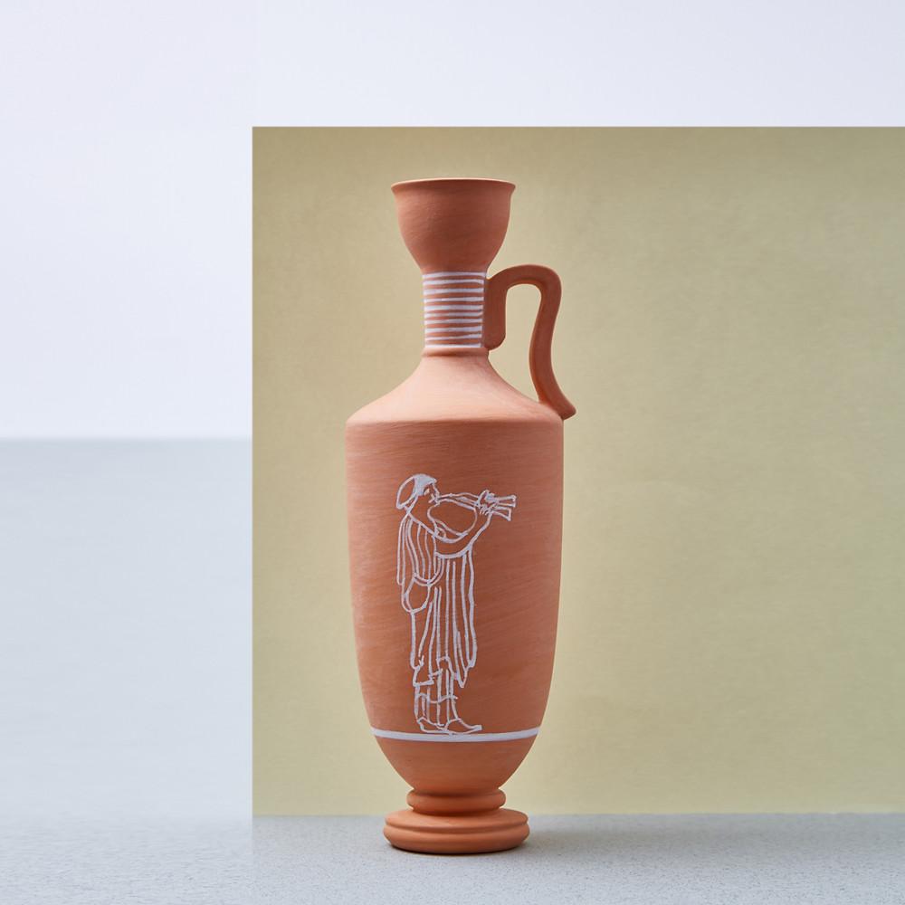 Designer federico pazienza's artwork in ceramic