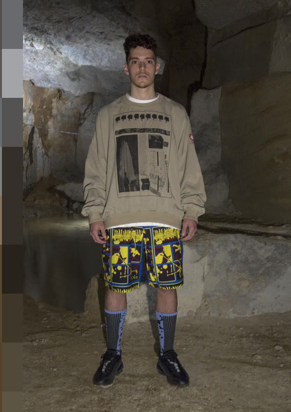 Fashion brand Cav Empt collection shooting