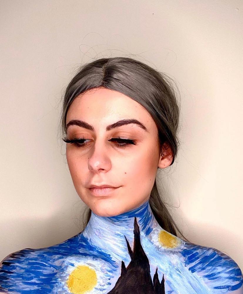 Make-up artist Melissa Trombetta