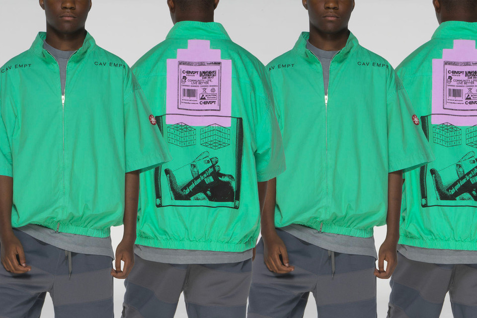 Fashion brand Cav Empt collection