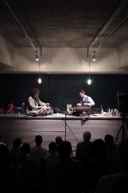 新井孝弘(サントゥール)×U-zhaan(タブラ)北インド古典ライブ