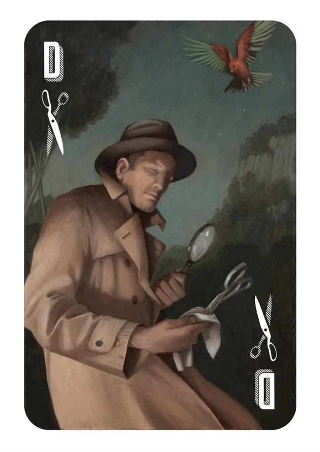 The Detective of Scissors