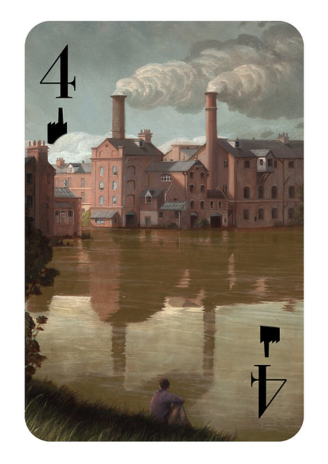 The Hidden Suits: The 4 of Chimneys