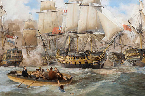 The Battle of Camperdown - Limited Edition print