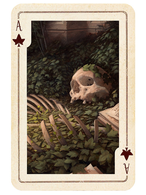 The Hidden Suits: The Ace of Ivy - Limited Edition print