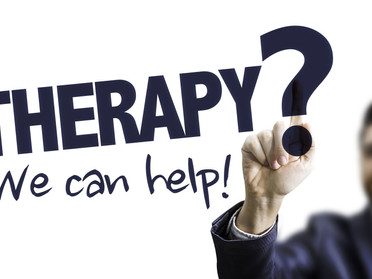 Starting Therapy/Counseling