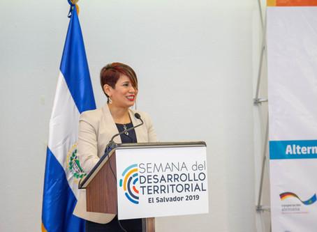 Bienvenida a la Cuarta Semana del Desarrollo Territorial
