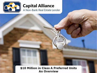 $10M CAL Preferred Class A Equity Units