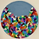 "Thumbnail: Funfetti  Gray 20"" Diameter"