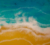 resin, beach