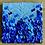 "Thumbnail: Blues Funfetti (8"" x 8"")"