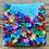 """Thumbnail: Funfetti 6"""" x 6"""" (sea)"""