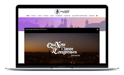 Dance Festival Website Design