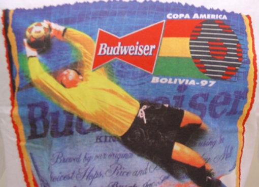 Camiseta Budweiser Copa América 1997