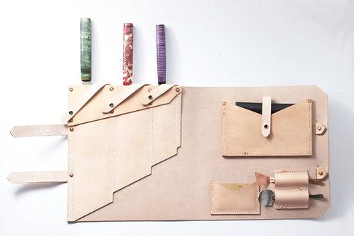 Handmade Knife Flat Roll