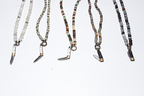 Knife Pendant Necklace