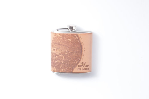 St.Louis Map Flask