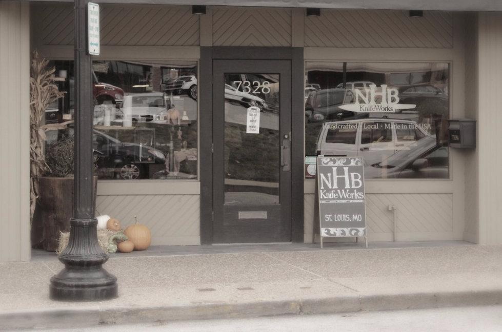 NHB KnifeWorks Retail Storefront