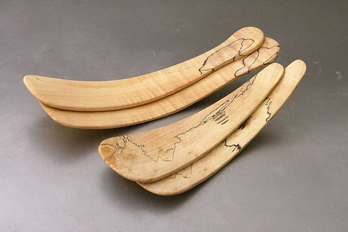 Large Spalted Maple Servers