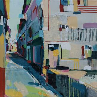 Street at Ziano di Fiemme