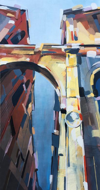 Under the arch of Verona