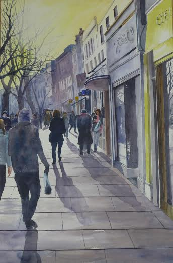 Afternoon on Upper Street, Islington.jpg