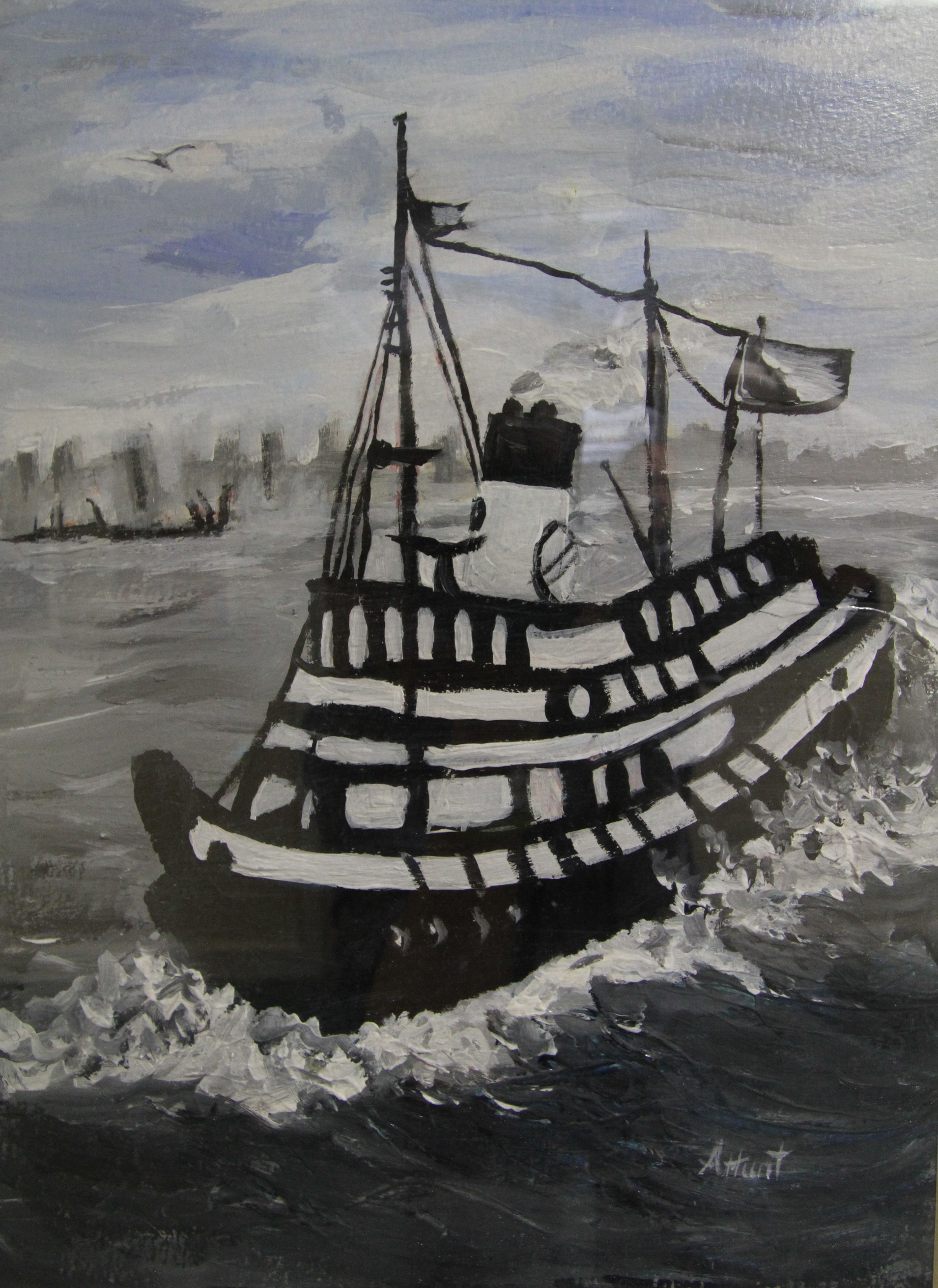 The Old Tug Boat