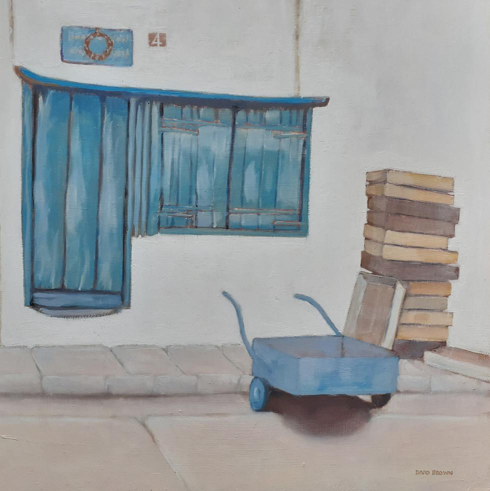 Old shop, Alonissos  By David Brown