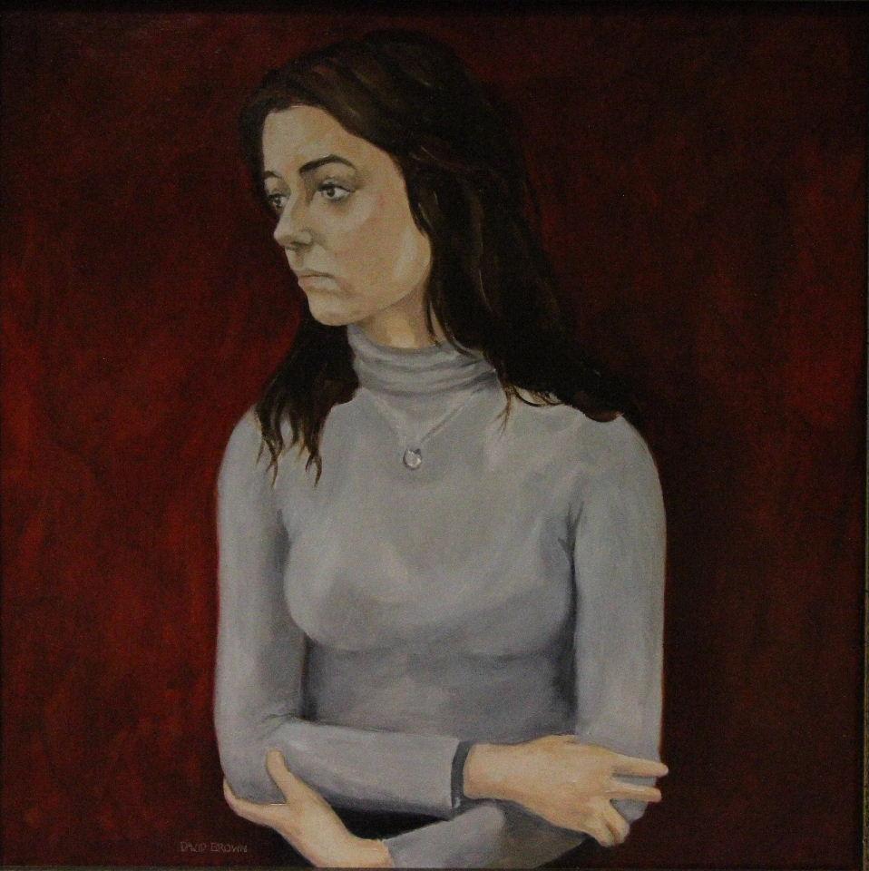Jess in grey