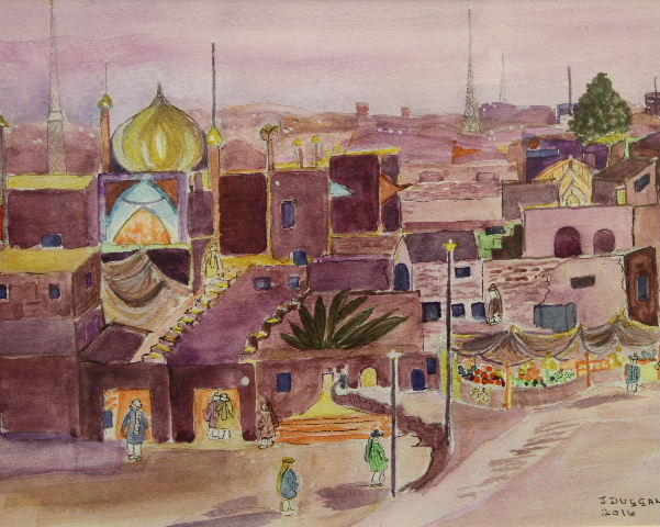 Market in Pakistan