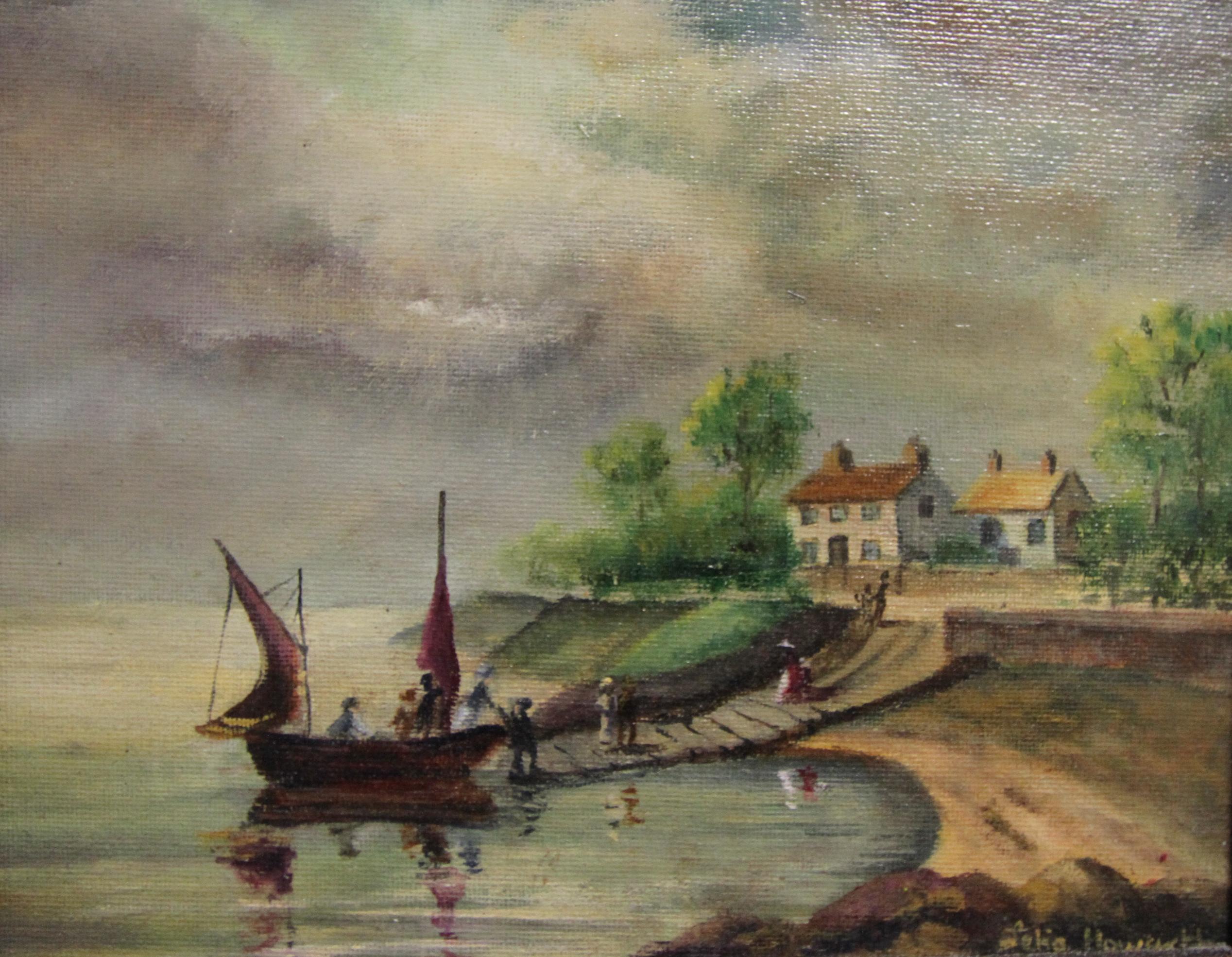 Woodside Ferry 1814 (after Herdsman)