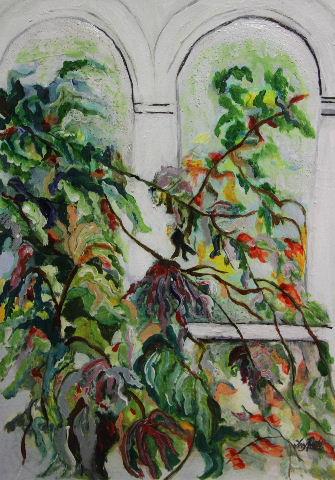 The Palm House window