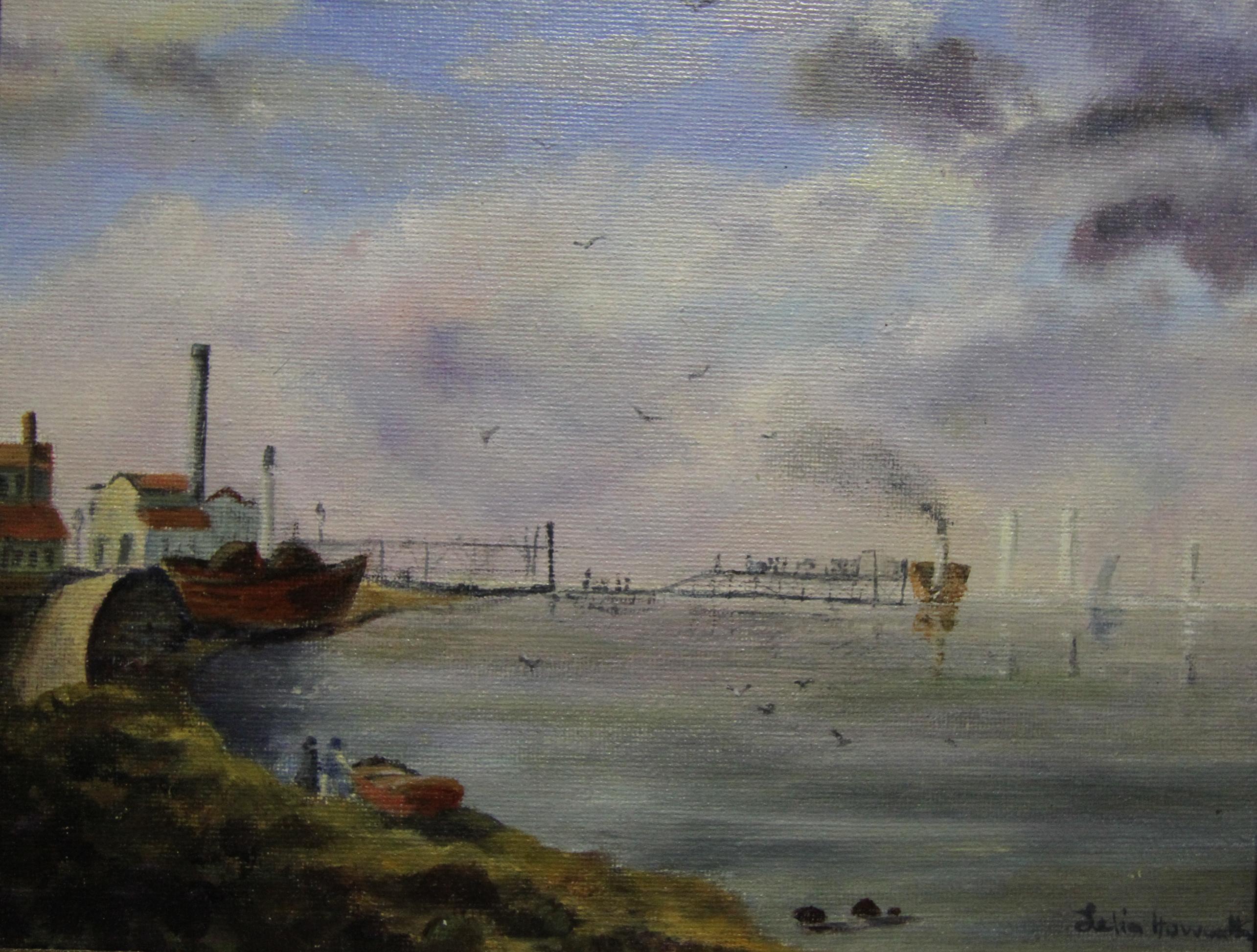 Egremont Ferry 1860 (after Herdsman)