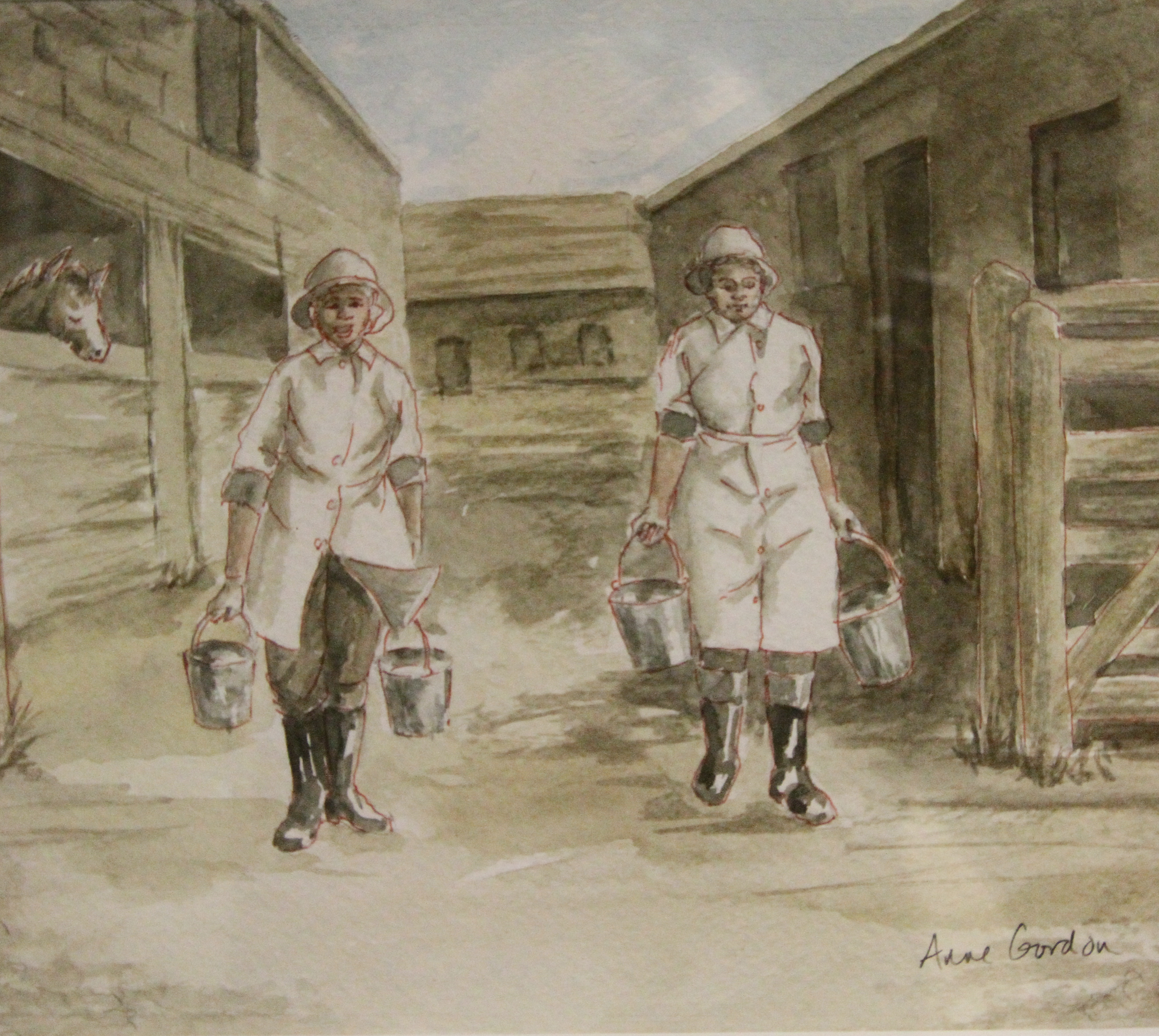 The Home Front Land Girls