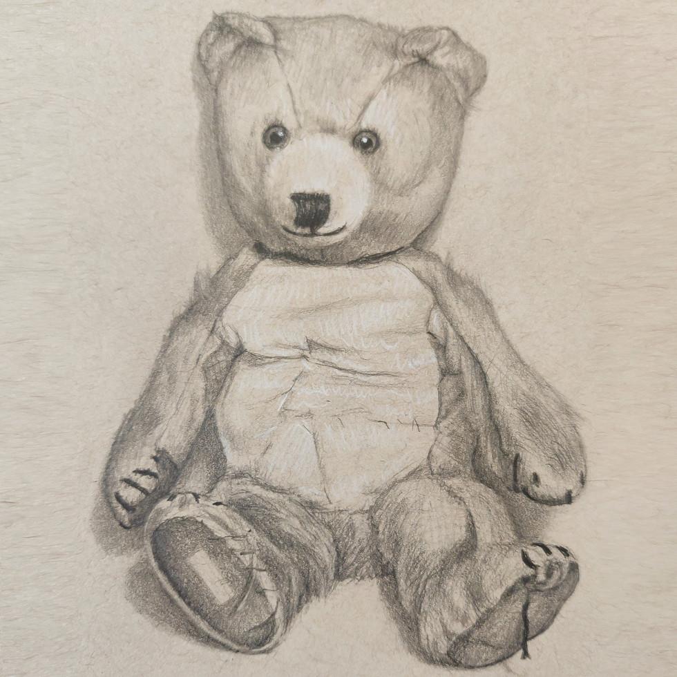 Teddy  By Chas Mason Pencil